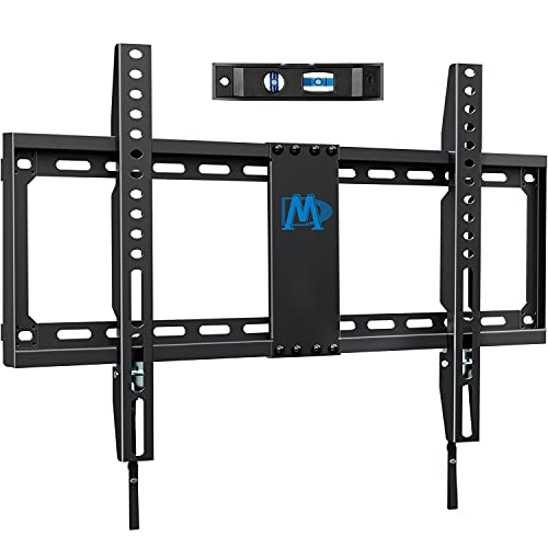 Mounting Dream TV Mount Fixed for Most 42-70 Inch Flat Screen TVs , TV Wall Mount Bracket up to VESA 600 x 400mm and 132 lbs - Fits 16'/18'/24' Studs - Low Profile and Space Saving MD2163-K