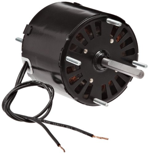 Fasco D132 3.3' Frame Open Ventilated Shaded Pole General Purpose Motor with Sleeve Bearing, 1/20HP, 1500rpm, 115V, 60Hz, 1.8 amps, CW Rotation