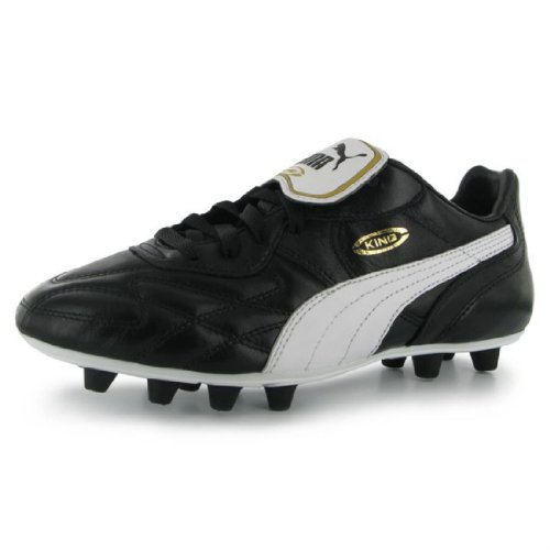 PUMA Mens Gents King Top di FG Football Sports Lace Up Shoes Boots New Black/White UK 7