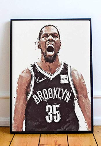 Kevin Durant Limited Poster Artwork - Professional Wall Art Merchandise (More Sizes Available) (8x10)