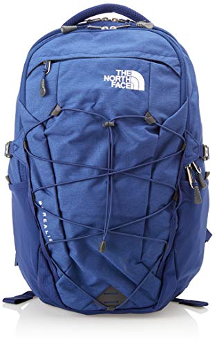 The North Face Borealis Laptop Backpack - Bookbag for Work, School, or Travel, Flag Blue Light Heather & TNF White, One Size
