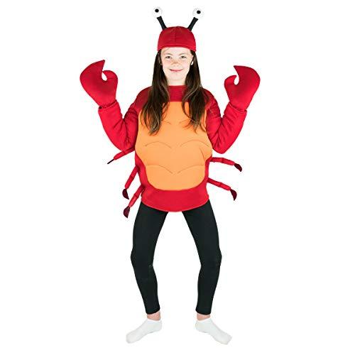 Bodysocks Kids Crab Fancy Dress Costume