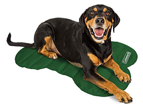 Coleman Green Bone Shape Cooling Mat sizes24x34 inches