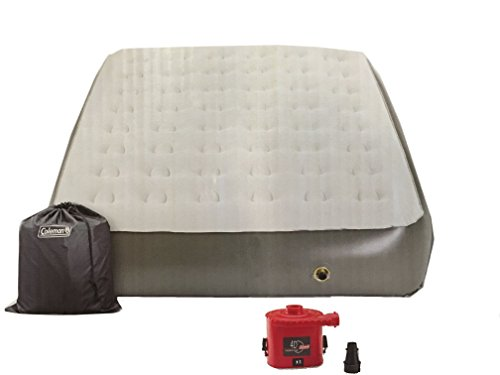 Coleman Comfort Strong 12-in Height Airbed with Portable Pump - Queen