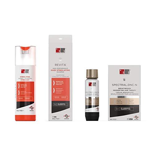 Revita Shampoo w/Biotin, Caffeine and Hair Growth Stimulating Ingredients, Helps Block DHT w/DNC-N Nanoxidil 5% Hair Growth Treatment