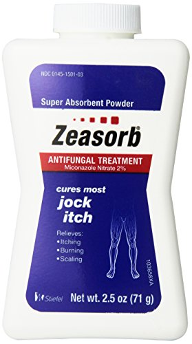 Zeasorb Antifungal Treatment Powder, Jock Itch 2.5 Oz (3 Pack)