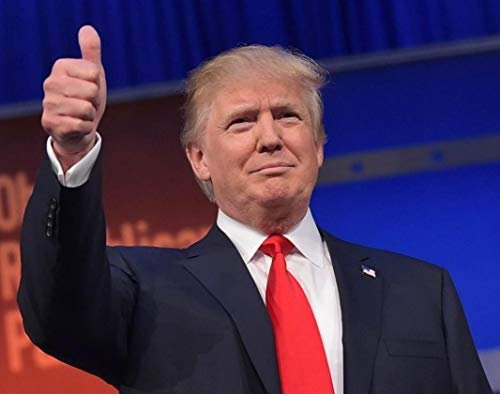 President Donald J Trump Thumbs Up America Photo Art Photos Artwork 8x10