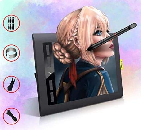 Digital Drawing Tablets for PC, Acepen 10 x 6 Inch animation tablet for beginners/artist/Teacher,Support Online Learning and Working, computer graphics tablets Pad for Laptop/Mac(106)