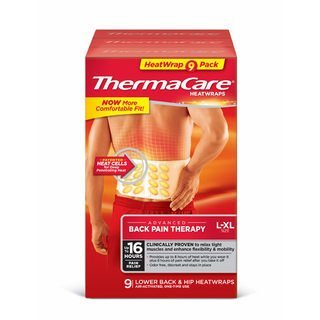 Thermacare Heatwraps Lower Back & Hip, L-XL- SPECIAL LIMITED PACK OF 9 Count