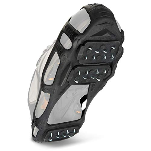 STABILicers Walk Traction Cleat for Walking on Snow and Ice, Black, Medium (1 Pair)