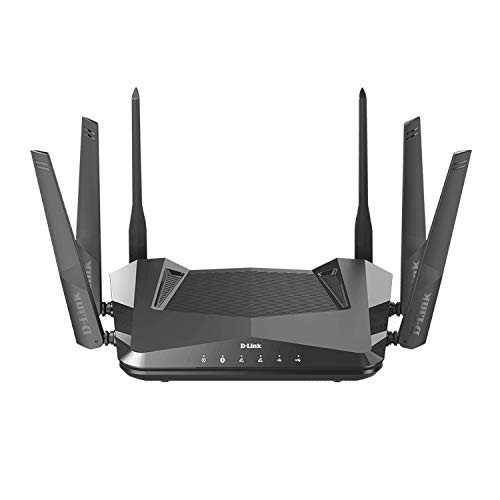 D-Link WiFi 6 Router AX5400 MU-MIMO Voice Control Works with Alexa & Google Assistant, Dual Band Gigabit Gaming Internet Network (DIR-X5460-US)