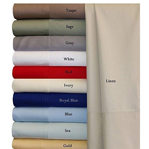 Royal Hotel Queen Gray Silky Soft Bed Sheets 100% Bamboo Viscose Sheet Set