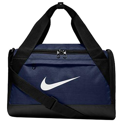 Nike Brasilia Training Duffel Bag (Extra-Small) Midnight Navy/Black/White