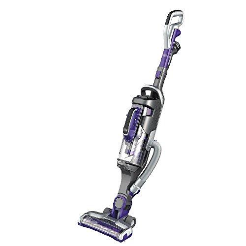 BLACK+DECKER Power Series Pro Pet Cordless Stick Vacuum Cleaner, 2-in-1, Purple (HCUA525JP)