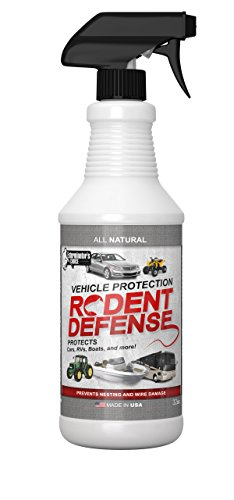 Rodent Defense Vehicle Natural Repellent for cars, trucks suv, RV Boats, peppermint and other essential oils to deter rats, mice and squirrels