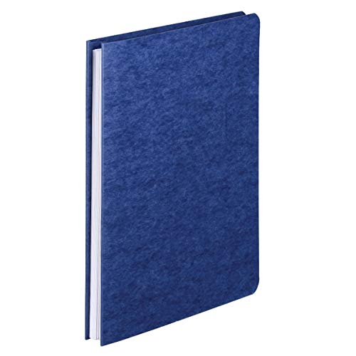 Office Depot Pressboard Side-Bound Report Binders with Fasteners, Dark Blue, 60% Recycled, Pack of 10, A7025127
