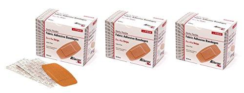 ProAdvantage P150125 Flexible Large Adhesive Bandages 2' x 4' (Pack of 150)