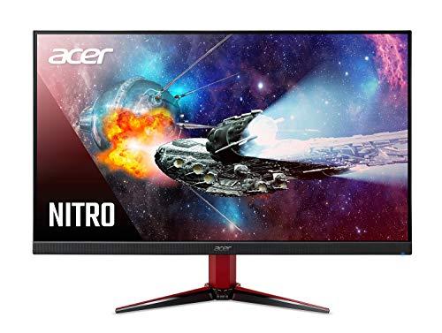 Acer Nitro VG271U Pbmiipx 27' WQHD (2560 x 1440) IPS AMD Radeon FREESYNC Gaming Monitor, 144Hz, VESA Certified DisplayHDR400, DCI-P3, (2 x HDMI 2.0 Ports & 1 x Display Port),Black