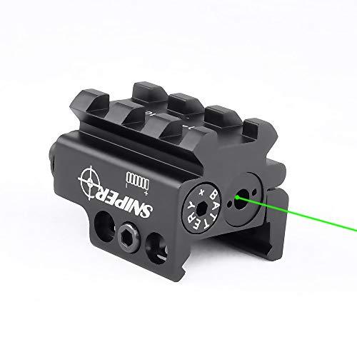 Sniper 5009G Green Dot Laser Sight for Rifle Handgun fit Weaver or Picatinny Rail