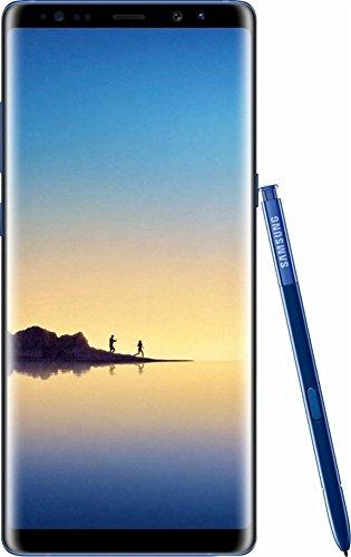 Samsung Galaxy Note 8, 64GB, Deepsea Blue - Fully Unlocked (Renewed)