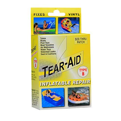 TEAR-AID Vinyl Inflatable Repair Kit, Yellow Box Type B, Single