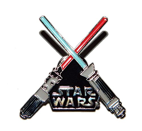 Star Wars Crossed Lightsabers Enamel PIN