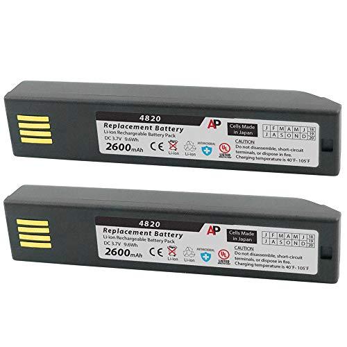 Artisan Power Pack of 2 Honeywell 3820, 4820, 6320 & Xenon 1902: Replacement Batteries. 2600 mAh