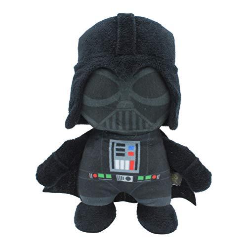 Star Wars Plush Darth Vader Figure Dog Toy | Soft Star Wars Squeaky Dog Toy | Medium