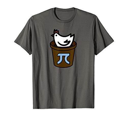 Chicken Pot Pi Day Shirt Women, Men & Kids   Pi Day T Shirt T-Shirt