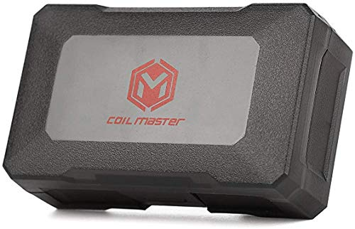 Coil Master 18650 Battery Case Battery Holder Case for All Flat TOP Batteries Size 18650 and Smaller (2 Bay)