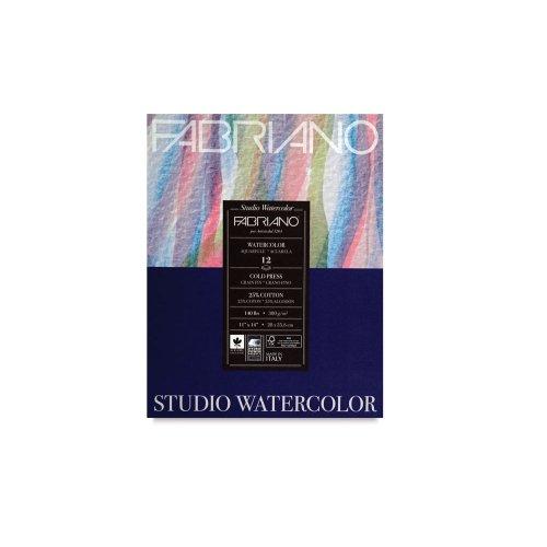 Fabriano Studio WC Pad 11X14 CP 300G 50 Shts