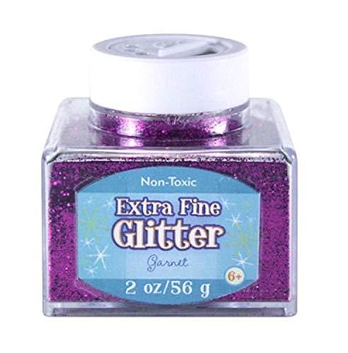 Sulyn 2oz. Glitter Stacker Jar - Garnet