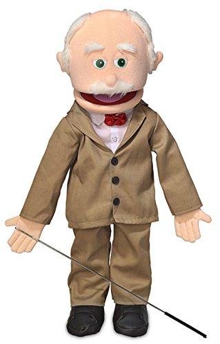 25' Pops, Peach Grandfather, Full Body, Ventriloquist Style Puppet