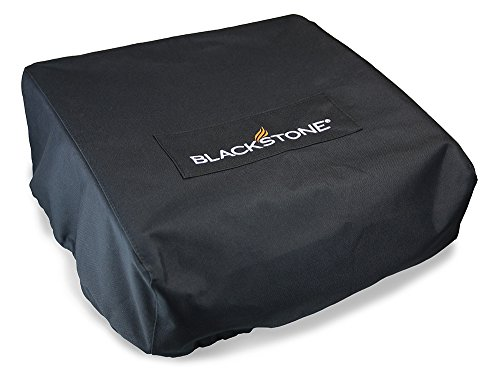Blackstone 17 inch Griddle Cover and Carry Bag Water Resistant 600D Polyester Heavy Duty Flat top 17' Gas Grill Cover Accessory Exclusively Fits Blackstone 17' Griddle Cooking Station Without Hood