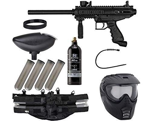 Action Village Tippmann Cronus Epic Paintball Gun Package Kit - Tactical & Basic (Basic Black)