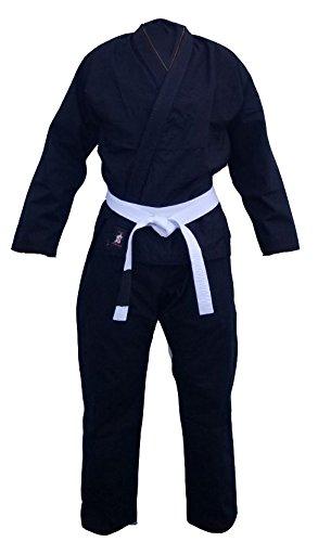 Your Jiu Jitsu Gear BJJ Uniform Rip Stop Black A2 with Free Belt