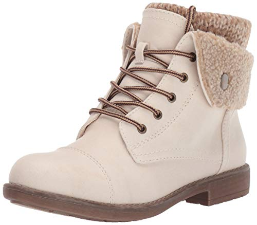 CLIFFS BY WHITE MOUNTAIN Women's Duena Hiking Style Boot, Winter White, 9 M