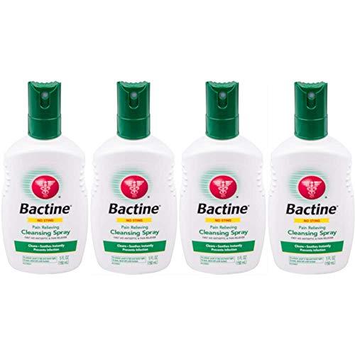 Bactine Original First Aid Spray, 5 Fl Oz (Pack of 4)