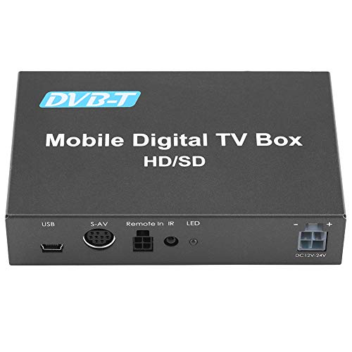 Car Digital TV Box, Keenso DVB-T HD/SD Mobile Car Digital TV Box Analog TV Tuner High Speed 240km/h Strong Signal Receiver