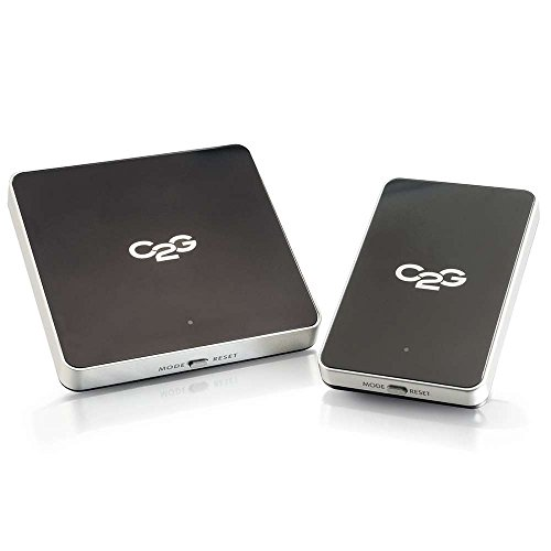 C2G Wireless HDMI Transmitter & Receiver Kit - Wirelessly Transmit HDMI Signals Up To 100ft Between Devices - Works With Both Audio & Video - Quick Setup With No Software Required