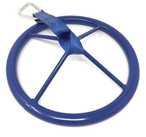 TUAHOO Jungle Gym Ninja Wheel Accesory for Ninja Warrior Obstacle Course Ninja Line Slackline Ninja Training Kit