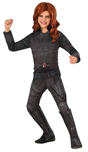 Rubie's Costume Captain America: Civil War Black Widow Deluxe Child Costume, Medium