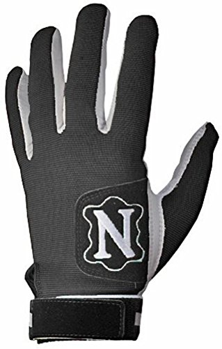 Neumann Tackified Receiver Football Gloves, (Black Large)