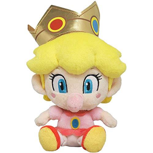 LB Super Mario All Star Collection 1249 Baby Peach Plush, 6'
