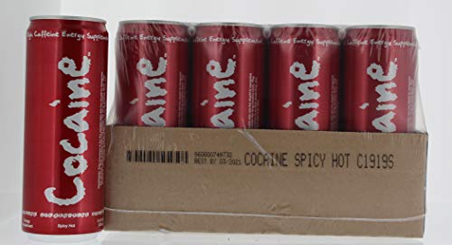 Cocaine Energy Drink - 12 Can Case - 12.0 fl oz Cans