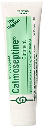 Calmoseptine Ointment Tube 4 Ounce (Pack of 2)