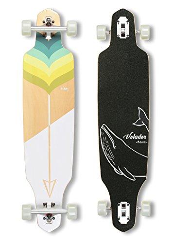 VOLADOR 40inch Maple Longboard - Basic Cruiser (Arrow)