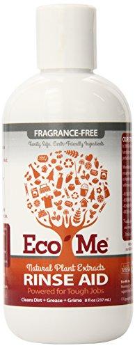 EcoMe Auto Dish Rinse Aid, Fragrance-Free, 8 oz