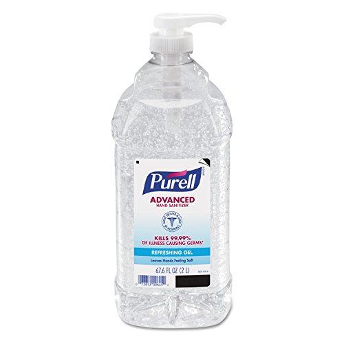 PURELL 962504CT Advanced Instant Hand Sanitizer, 2-liter Bottle, 4 per Carton