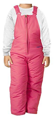 Arctix Infant-Toddler Chest High Snow Bib Overalls, Fuchsia, 4T